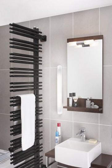 Applique salle de bain fluo HUDSON Eco énergie13W Blanc