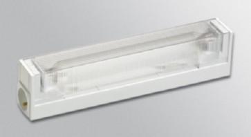 Reglette Halogene 75W salle de bain Loire Lino-DSP Blanc Starlicht