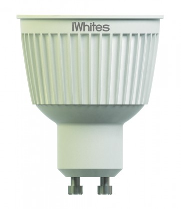 pack 2 Ampoules led Gu 10 blanc télécommandées 7 W