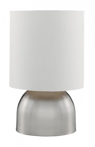 Lampe de bureau tactile DIMPLES TL Champi Acier Brossé