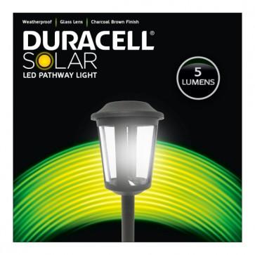 Lot de 6 bornes solaire extérieure 5 lumens Duracell GL018BT6DU