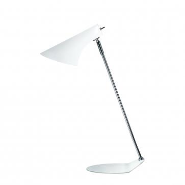 Lampe à poser VANILA Blanc Mat 40W