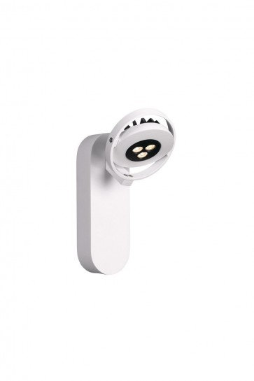 Patère ORBITS  Spot orientable LED 7,5 W Blanc 230 V Massive view