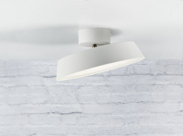 Plafonnier ALBA led 12w blanc Nordlux showroom