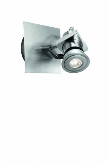 Poppy Patère LED Acier Brossé 1 x 4 W GU10 230 V