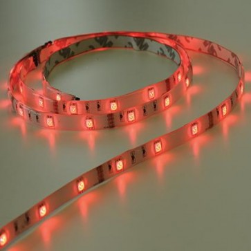 KIT RUBAN LED PRÊT A POSER 1 METRE ROUGE