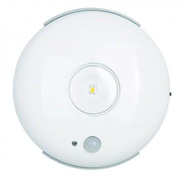 Applique Led à piles ronde, détecteur de présence , STIPPO 15 lumens Blanc LightTopps