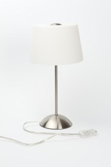 2 achetés =  frais de port offerts, Lampe à poser TOKIO Acier Brossé