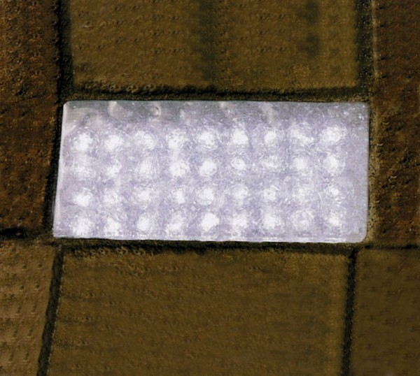 Encastr De Sol Extrieur Pave  Led Blanc