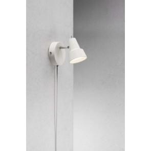 CONIC lampe Applique murale métal blanc show room
