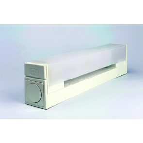 Applique murale KARL SDB IP24 tube lino fluo 13w 2700k + interrupteur