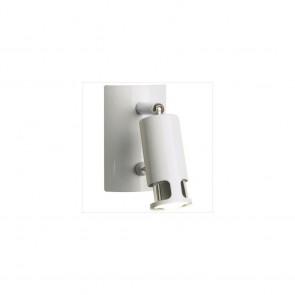 Patère Spot COSMIC Blanc 5w eco energie