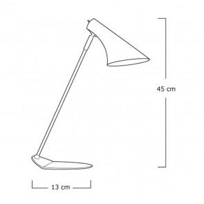 Lampe à poser VANILA Violet Mat 40W