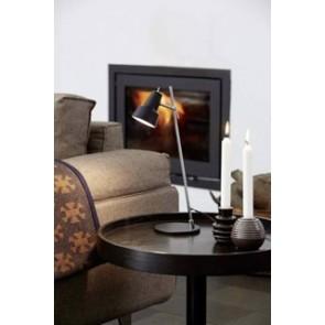 CONIC - Lampe à poser métal Noir ambiance