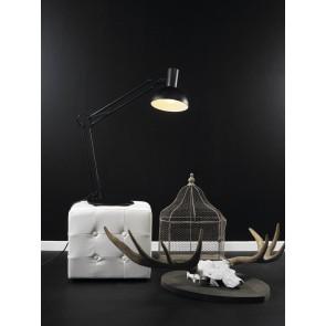 Lampe à poser ARKI Acier Noir 40W