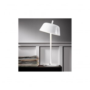 2 achetés = 10% de remise, Lampe à poser AMBER Blanc LED
