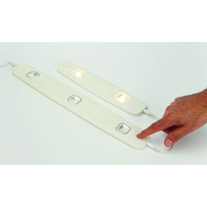Réglette ultra plate LENO LED 2 X 1 W BLANC interconnectable