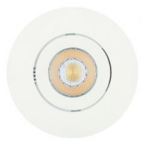 Spot Encastré Orientable Dimmable PRIMIA Led intégré 6W blanc