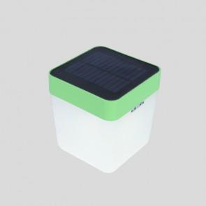 Lampe de table CUBE solaire lutec