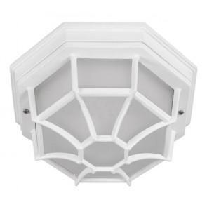 PLAFONNIER octogonale IP54 blanc