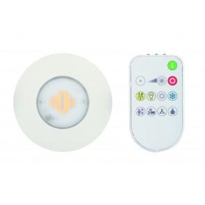 FUNBO spot encastré Led  IP65  telecommande blanc