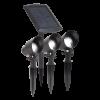 KIT 3 SPOTS 3x15 lumens + PANNEAU SOLAIRE