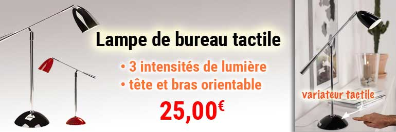 promotion lampe tactile Einstein Nordlux