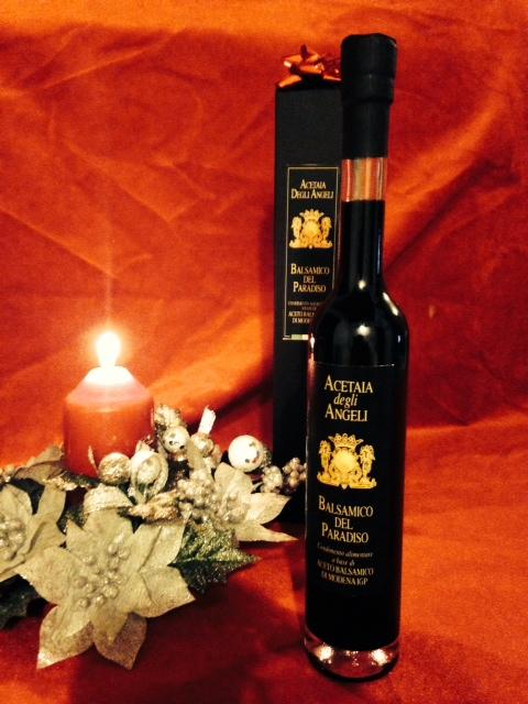 Vinaigre balsamique traditionnel agé AOP degli angeli IL Paradiso