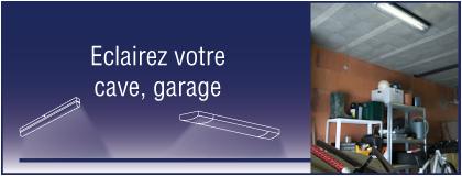 luminaire cave garage
